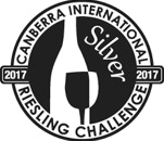 2017 Waterton Hall Wines Riesling awards - Riesling Challenge silver